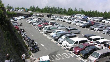 五合目の駐車場