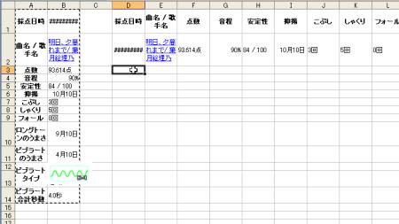 Excelで見やすい状態のデータに