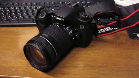 はじめてのデジタル一眼レフカメラです