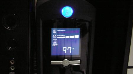 入力電圧97V