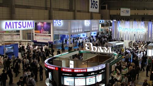 CEATEC JAPAN 2011(ホール8付近から撮影)