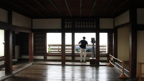 松山城の天守閣