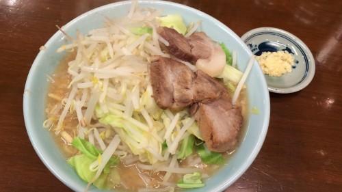 とんこつ野菜ラーメン(並650円)