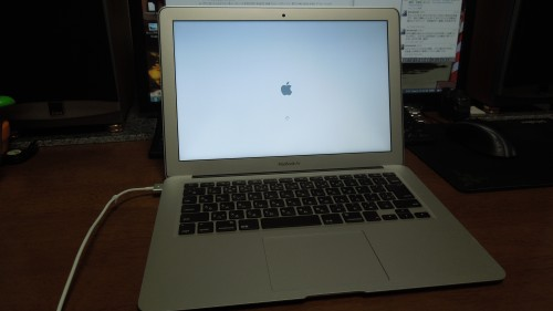 MacBook Air起動