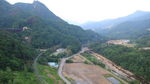 八ッ場ダム建設地