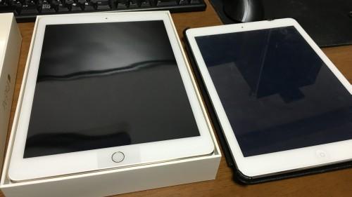 iPad Air2(セルラーモデル 64GBゴールド)