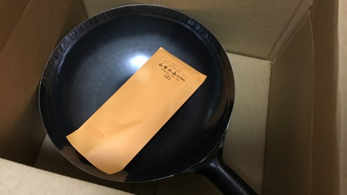 山田工業所 打出片手中華鍋33cm