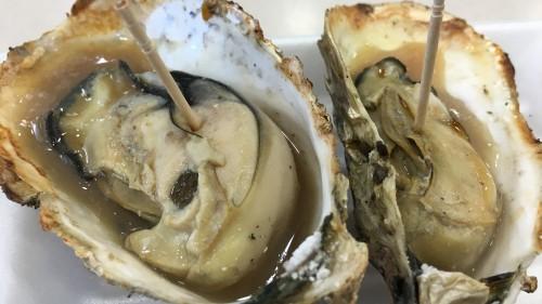 広島の焼き牡蠣
