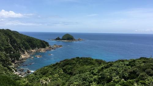 佐多岬からの景色