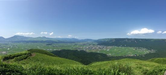 大観峰(パノラマ版)