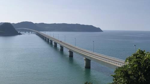 午後の角島大橋